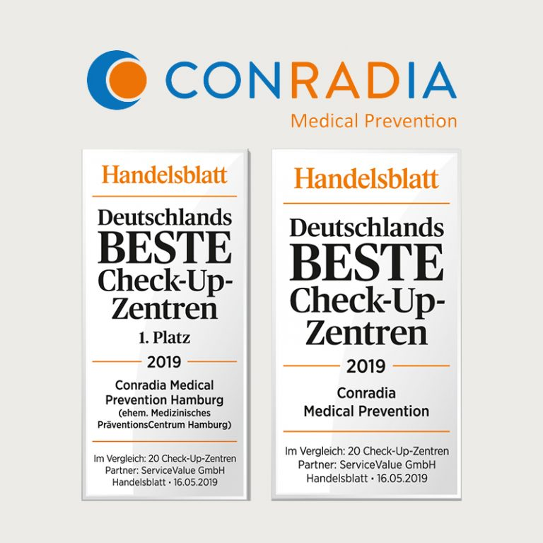 handelsblatt auszeichnung conradia medical prevention