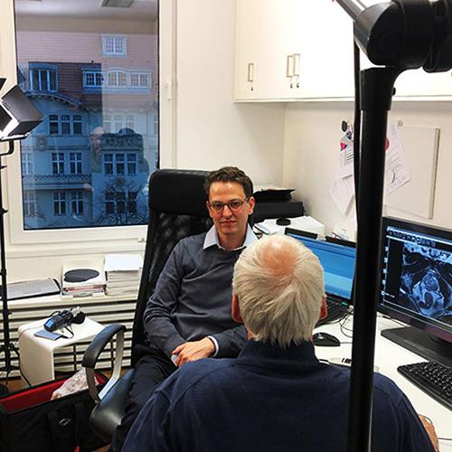 conradia filmdreh prostata diagnostik